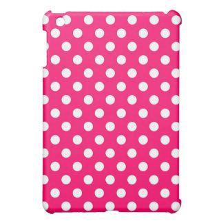 Retro Hot Pink Polka Dots  iPad Mini Case