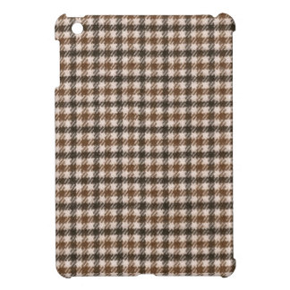 Retro houndstooth pattern cover for the iPad mini