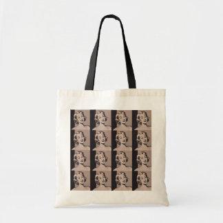 Retro Housewife Tote Bag