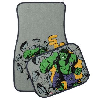 Retro Hulk Smash! Car Carpet