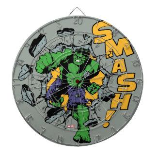 Retro Hulk Smash! Dart Boards