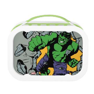 Retro Hulk Smash! Lunch Box