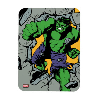 Retro Hulk Smash! Magnet