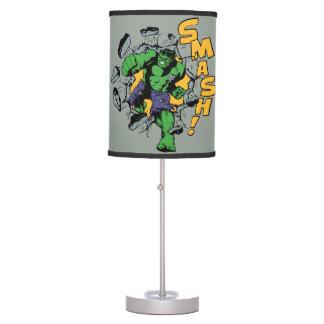 Retro Hulk Smash! Table Lamp