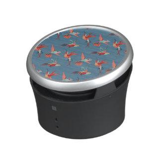 Retro Hummingbird Pattern Speaker