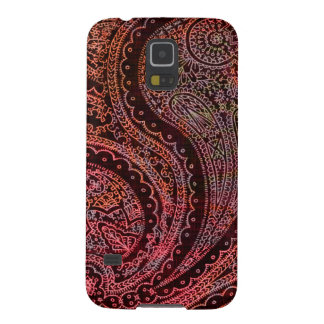 Retro Indian Paisley Galaxy S5 Cover