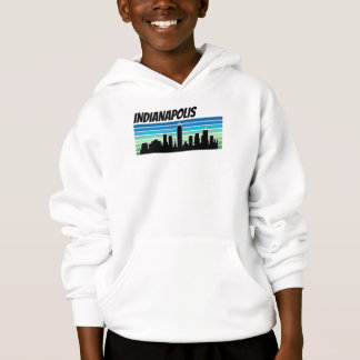 Retro Indianapolis Skyline