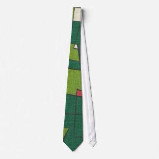 Retro Inspired Green Necktie