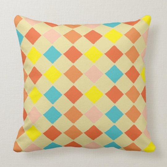 Retro Inspired Throw Pillow