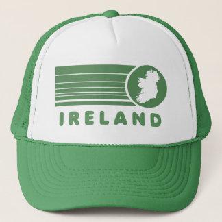 Retro Ireland Green Trucker Hat