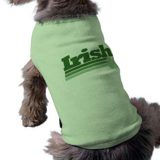 Retro Irish Shamrock Shirt