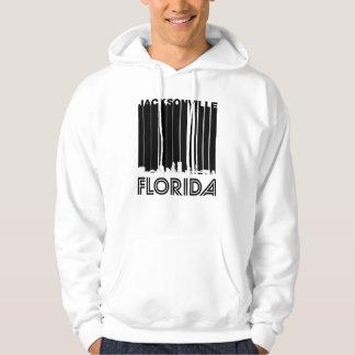 Retro Jacksonville Florida Skyline Hoodie