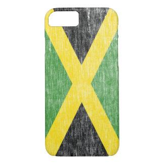Retro Jamaican Flag iPhone 7 case