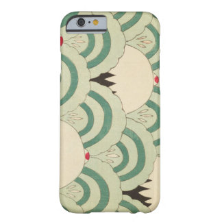 Retro Japanese Mint Waves Barely There iPhone 6 Case