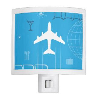 Retro Jet-Age Jetliner Airline Nite Lite