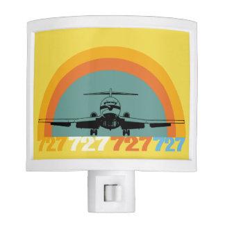 Retro Jet Airliner Night Light