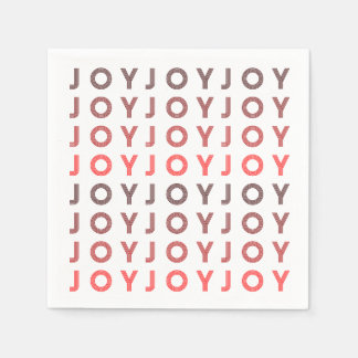 Retro Joy | Modern Holiday Napkin Disposable Napkin