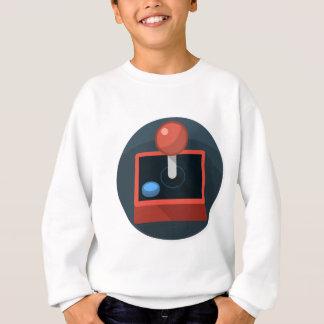 Retro Joystick, 80's style video game joy stick Sweatshirt