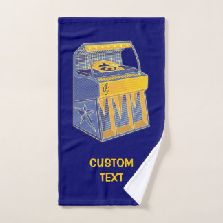 Retro Jukebox Bath Towel Set
