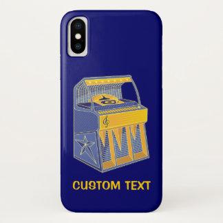 Retro Jukebox iPhone X Case