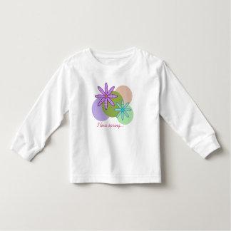 Retro Kaleidoscope Floral & Dots 1 Kids spShirt Toddler T-shirt