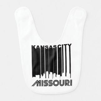 Retro Kansas City Skyline Bib