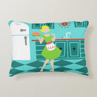 Retro Kitchen Accent Pillow