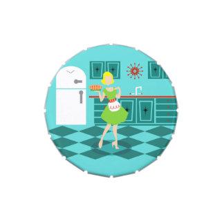 Retro Kitchen Candy Tin