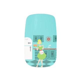Retro Kitchen Minx Nail Art Decals Minx® Nail Wraps