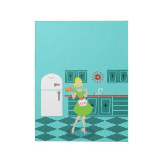 Retro Kitchen Notepad
