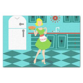 Retro Kitchen Tissue Paper