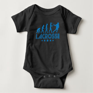Retro Lacrosse Evolution Baby Bodysuit