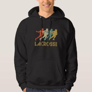 Retro Lacrosse Pop Art Hoodie