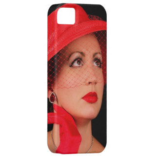 Retro Lady in Red Iphone5 iPhone 5 Cover