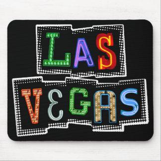 Retro Las Vegas Neon Mouse Pad