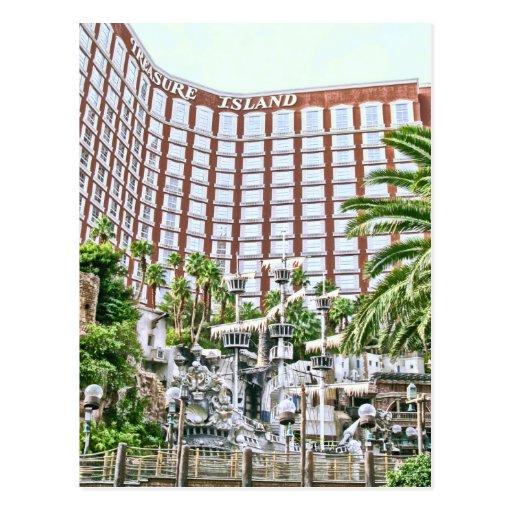 Retro Las Vegas Postcard