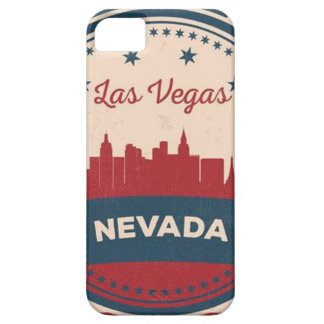 Retro Las Vegas Skyline Case For The iPhone 5