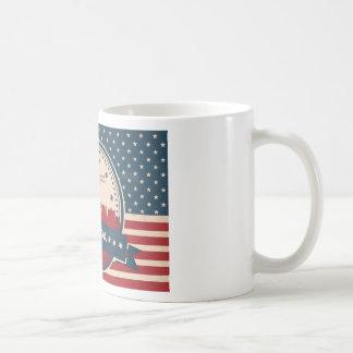 Retro Las Vegas Skyline Coffee Mug