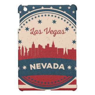 Retro Las Vegas Skyline iPad Mini Cover