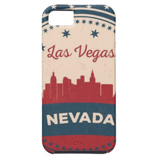 Retro Las Vegas Skyline iPhone 5 Covers