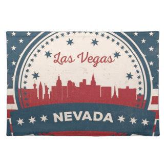 Retro Las Vegas Skyline Placemat