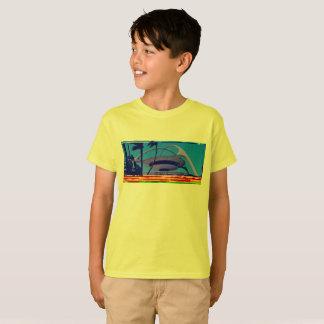 retro LAX databent kids t-shirt! T-Shirt