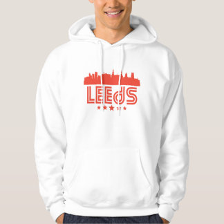 Retro Leeds Skyline Hoodie