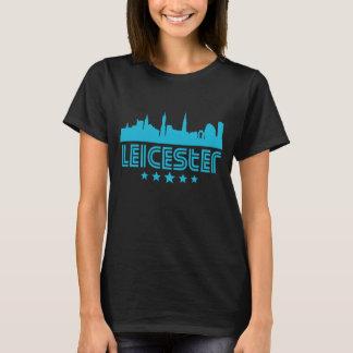 Retro Leicester Skyline T-Shirt