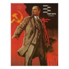 Retro Lenin Poster from the Russian Revolution