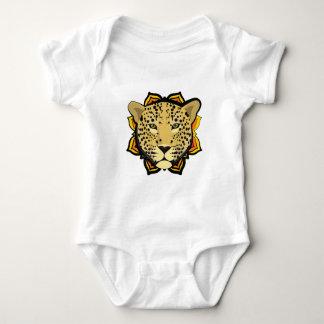Retro Leopard Baby Bodysuit