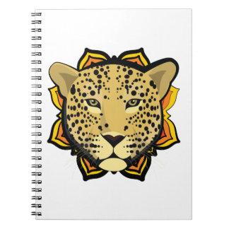 Retro Leopard Note Books