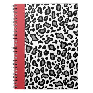 Retro Leopard Teacher Office School Notebook Gift