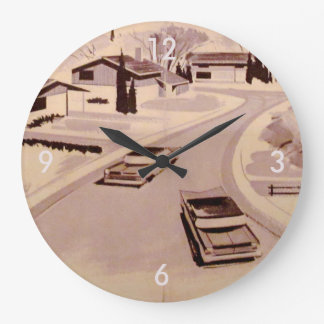 Retro-licious 60s Modern Large Clock
