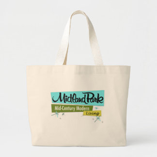 Retro-licious Mid-Century Modern Large Tote Bag